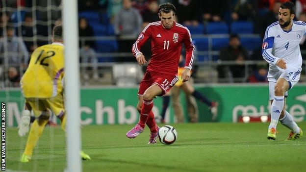 Gareth Bale has also played for Southampton and Tottenham