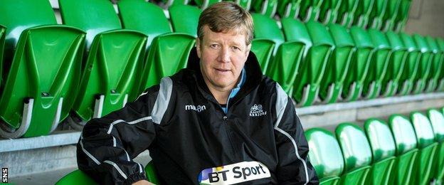 Glasgow Warriors assistant coach Shade Munro