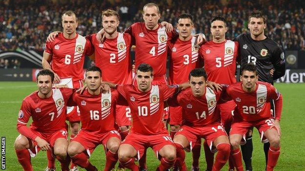Nineteen members of the Gibraltar squad are semi-professional in their homeland