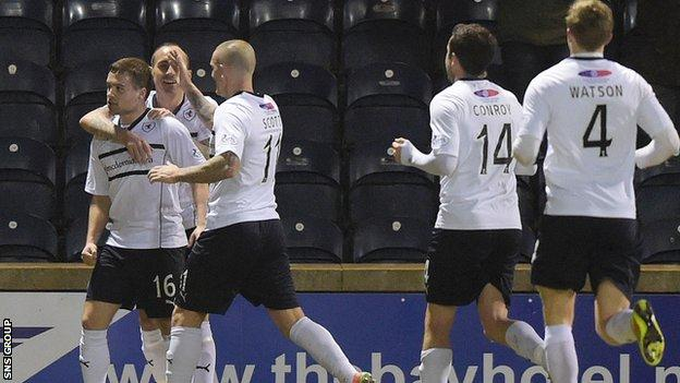Raith Rovers made it back-to-back wins and are eight points off a play-off place