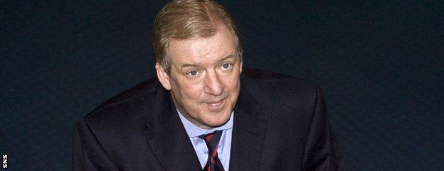 Sir David Murray had two spells as chairman of Rangers