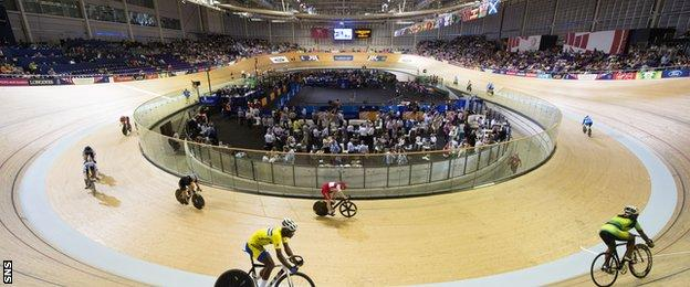 The Sir Chris Hoy Velodrome will be one of the chosen venues