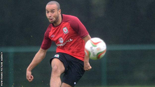 Swansea City and Wales defender Jazz Richards