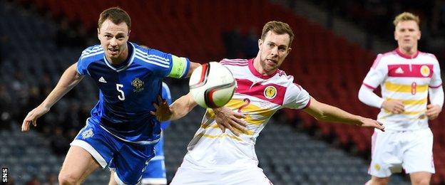 Jonny Evans and Steven Whittaker