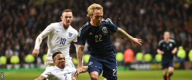 Striker Johnny Russell have come off the bench against England and Northern Ireland