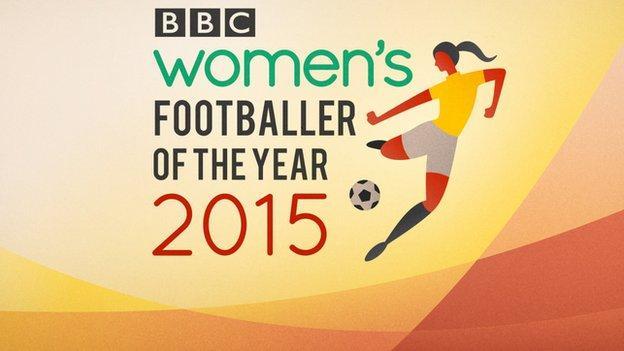 Women's footballer of the year logo