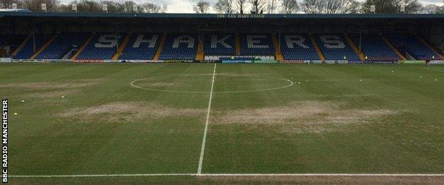 JD Stadium pitch