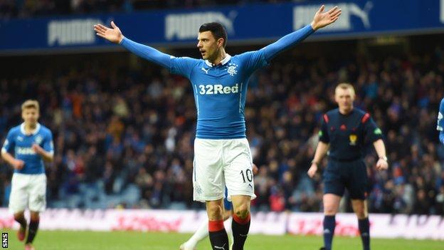 On-loan Newcastle forward Haris Vuckic scored a late double