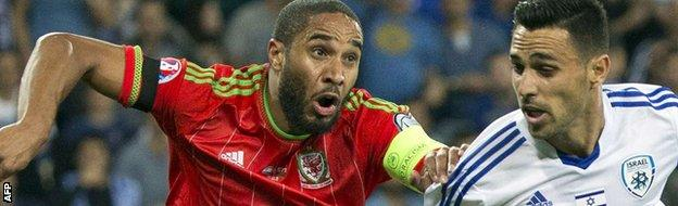 Ashley Williams of Wales