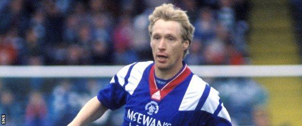Alexei Mikhailichenko starred for Rangers between 1991 and 1996