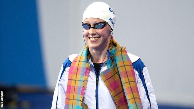 Hannah Miley swam in seven finals at last year's Commonwealth Games in Glasgow
