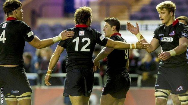 Edinburgh are level on points with sixth-placed Connacht going into the last four games of the Pro12 season