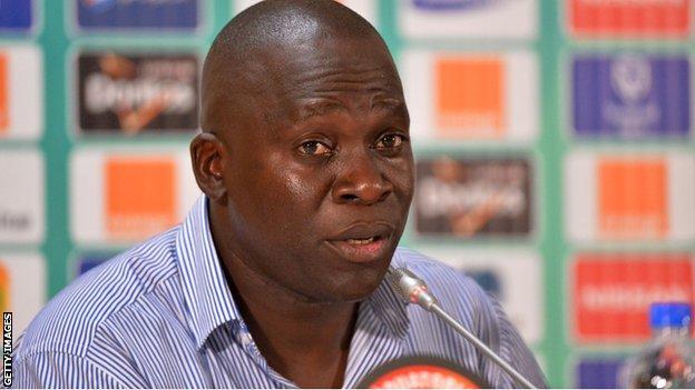 Zambia coach Honour Janza