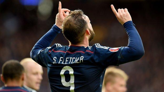 3a6cfc95a87 Scotland 6-1 Gibraltar - BBC Sport