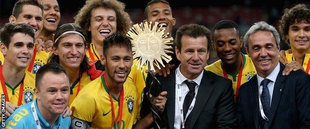 Brazil defeated Argentina 2-0 in Beijing in October to win the Super Clasico de las Americas