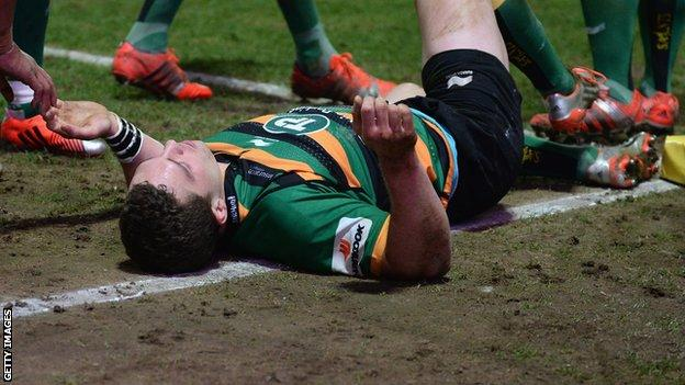 Former Scarlets wing George North has won 49 caps for Wales scoring 22 tries