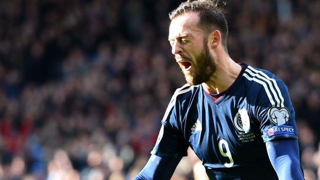 e2f97d12caa Euro 2016  Steven Fletcher happy to repay Scotland with hat-trick - BBC  Sport