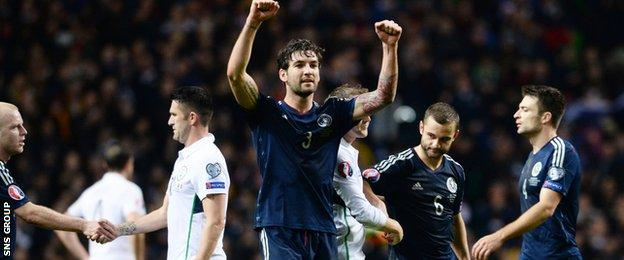 Scotland beat Republic of Ireland 1-0 at Celtic Park in November