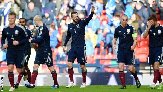 Scotland beat Gibraltar 6-1 at Hampden on Sunday