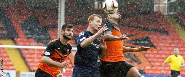Ross County lost 2-1 on their last visit to Tannadice