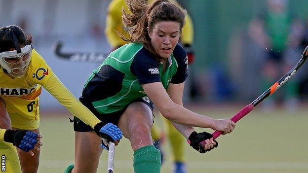 Michelle Harvey plays for Belgian club side Leuven