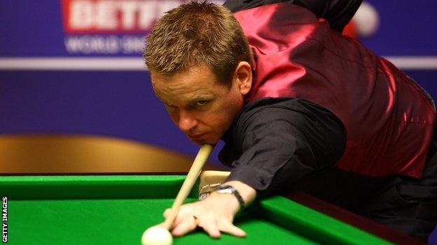 Joe Swail is 68th in the world rankings