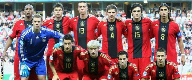 Germany Under-21 squad in 2009