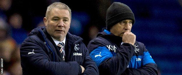 Ally McCoist and Kenny McDowall are still on the Rangers' payroll