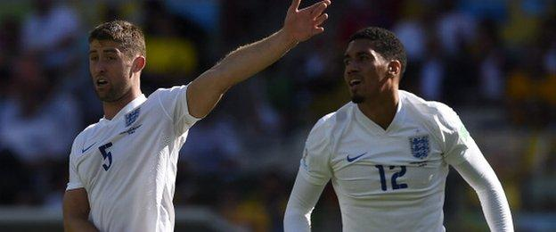 Gary Cahill and Chris Smalling