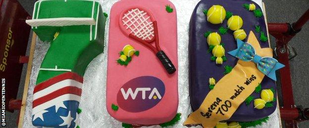 Serena Williams cake