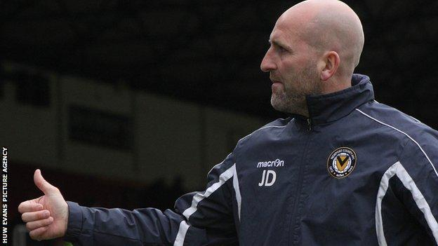 Jimmy Dack, Newport County manager