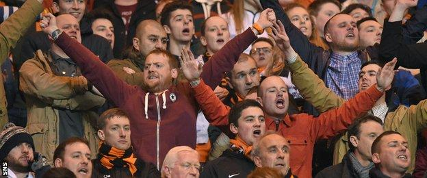 Sections of the Dundee United support have criticised the club