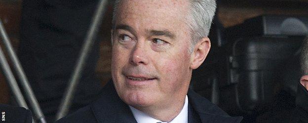 Interim Rangers chairman Paul Murray