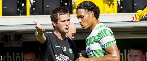Ronny Deila and Virgil van Dijk