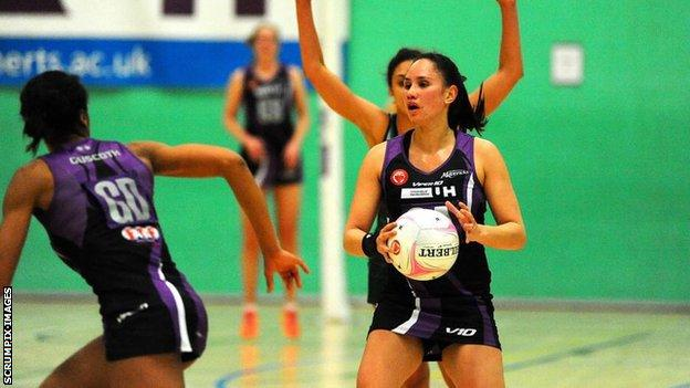 Hertfordshire Mavericks v Celtic Dragons