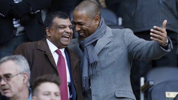 QPR director of football Les Ferdinand