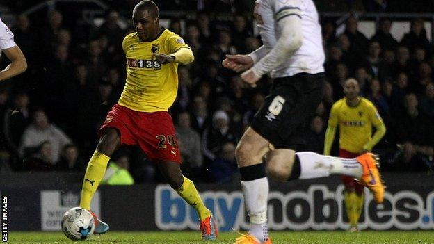Odion Ighalo scores