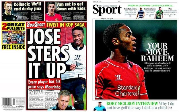 Daily Star and Daily Telegraph