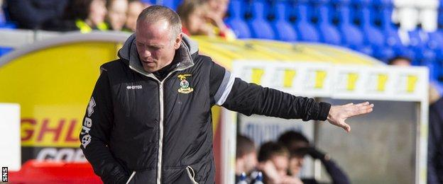 Inverness manager John Hughes said lady luck deserted his side