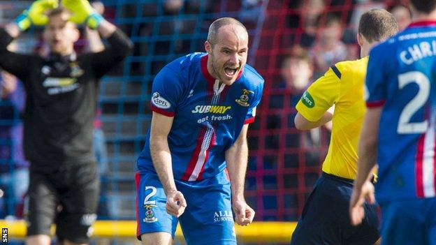 Inverness were left frustrated at a failure to take three points against Dundee