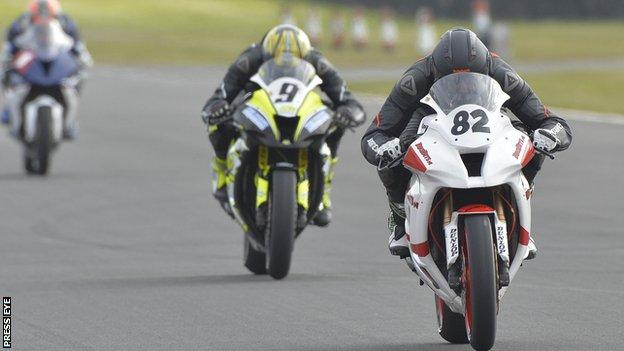 Derek Shiels powers into the lead at Bishopscourt on Saturday