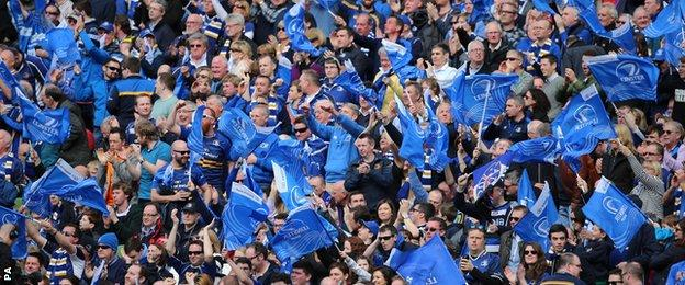 The home fans were delighted with the result at a vibrant Aviva Stadium