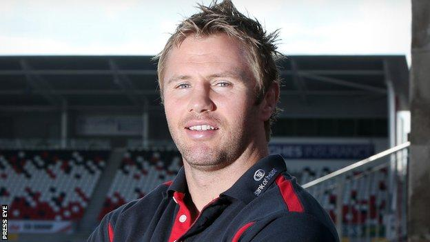 Ulster rugby player Roger Wilson