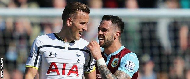 Harry Kane and Danny Ings