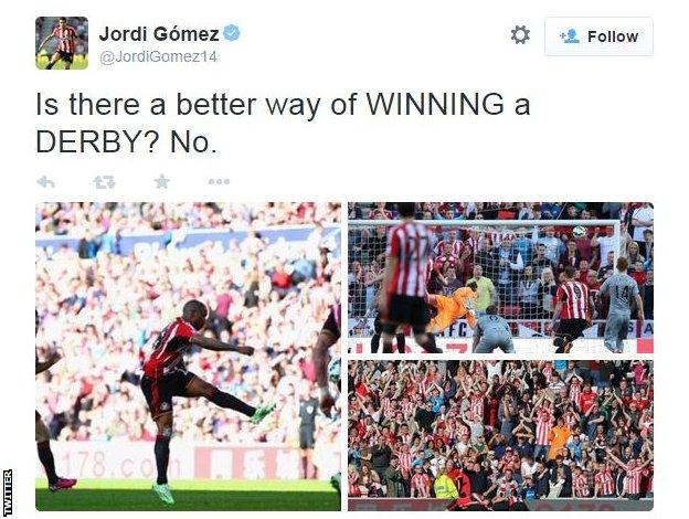 Jordi Gomez Twitter
