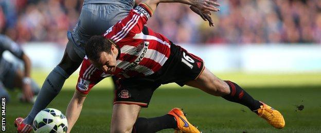 Sunderland captain John O'Shea