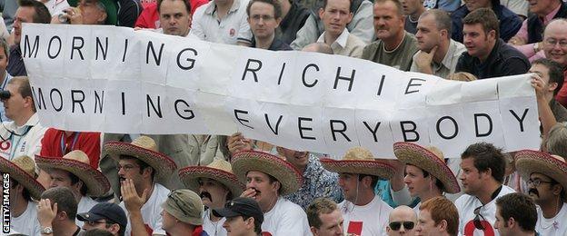 Richie Benaud fans