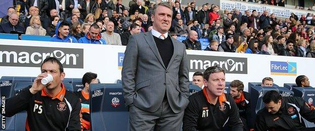 Lee Clark, Blackpool manager