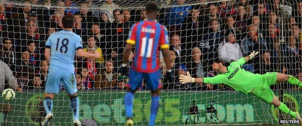 Julian Speroni of Crystal Palace