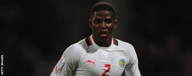 Nantes and Senegal defender Papy Djilobodji